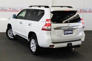 2017 Toyota Landcruiser GDJ150R Prado Altitude Spl Edt Crystal Pearl 6 Speed Automatic Wagon