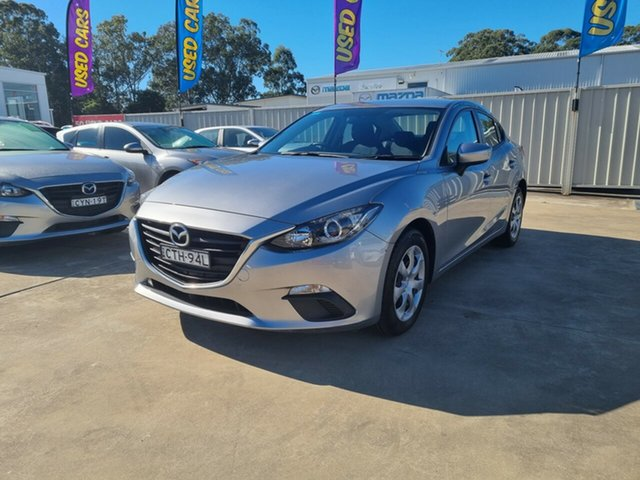 Used Mazda 3 BM5278 Neo SKYACTIV-Drive Glendale, 2014 Mazda 3 BM5278 Neo SKYACTIV-Drive Silver 6 Speed Sports Automatic Sedan