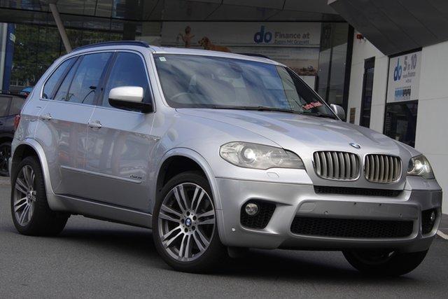 Used BMW X5 E70 MY11.5 xDrive50i Steptronic Sport Mount Gravatt, 2011 BMW X5 E70 MY11.5 xDrive50i Steptronic Sport Silver 8 Speed Sports Automatic Wagon