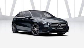 2021 Mercedes-Benz A-Class W177 801+051MY A35 AMG SPEEDSHIFT DCT 4MATIC Cosmos Black 7 Speed
