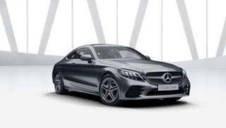 2021 Mercedes-Benz C-Class C205 801MY C200 9G-Tronic Selenite Grey 9 Speed Sports Automatic Coupe
