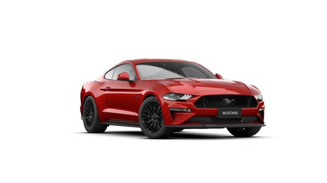 New Ford Mustang FN 2021.50MY GT Townsville, 2021 Ford Mustang FN 2021.50MY GT Rapid Red 10 Speed Sports Automatic Fastback