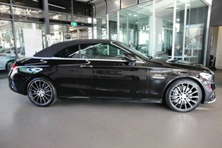 2018 Mercedes-Benz C-Class A205 808MY C43 AMG 9G-Tronic 4MATIC Black 9 Speed Sports Automatic