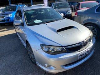 2009 Subaru Impreza G3 MY10 WRX AWD Silver 5 Speed Manual Hatchback.