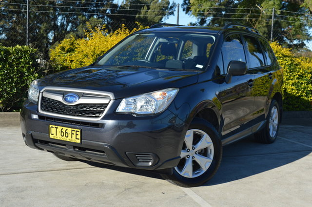 Used Subaru Forester S4 MY13 2.5i Lineartronic AWD Maitland, 2013 Subaru Forester S4 MY13 2.5i Lineartronic AWD Grey 6 Speed Constant Variable Wagon