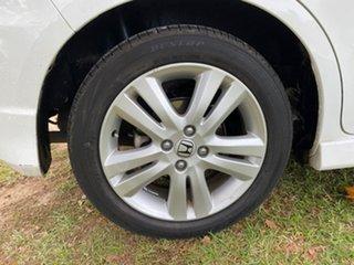 2012 Honda Jazz GE Vibe-S White Automatic Hatchback