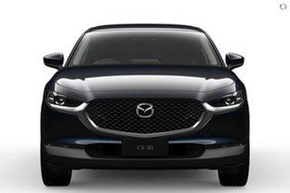 2021 Mazda CX-30 DM4WLA G25 SKYACTIV-Drive i-ACTIV AWD Touring Blue 6 Speed Sports Automatic Wagon.