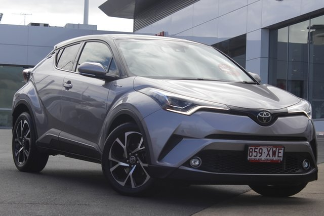 Pre-Owned Toyota C-HR NGX10R Koba S-CVT 2WD Woolloongabba, 2017 Toyota C-HR NGX10R Koba S-CVT 2WD Silver 7 Speed Constant Variable Wagon