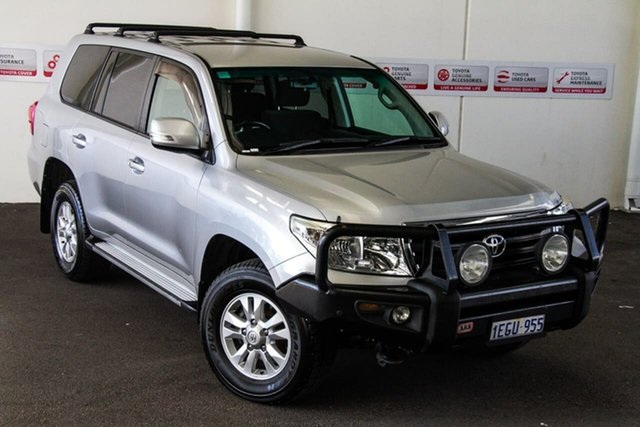 Pre-Owned Toyota Landcruiser VDJ200R MY13 GXL (4x4) Rockingham, 2013 Toyota Landcruiser VDJ200R MY13 GXL (4x4) Silver Pearl 6 Speed Automatic Wagon