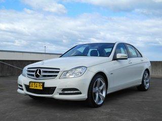 2011 Mercedes-Benz C-Class W204 MY11 C200 CDI BlueEFFICIENCY 7G-Tronic + Elegance White 7 Speed