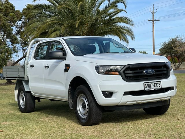 Used Ford Ranger PX MkII 2018.00MY XL Cheltenham, 2018 Ford Ranger PX MkII 2018.00MY XL White 6 Speed Sports Automatic Cab Chassis