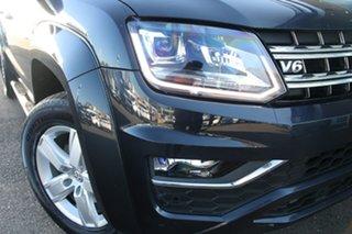 2018 Volkswagen Amarok 2H MY18 TDI550 4MOTION Perm Highline Blue 8 Speed Automatic Utility.