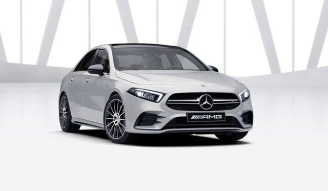 New Mercedes-Benz A-Class V177 801+051MY A35 AMG SPEEDSHIFT DCT 4MATIC Mulgrave, 2021 Mercedes-Benz A-Class V177 801+051MY A35 AMG SPEEDSHIFT DCT 4MATIC Digital White 7 Speed