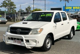 2005 Toyota Hilux TGN16R Workmate White 5 Speed Manual Utility.