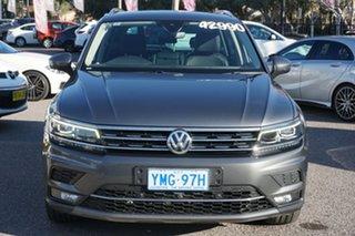 2017 Volkswagen Tiguan 5N MY17 140TDI DSG 4MOTION Highline Indium Grey 7 Speed.