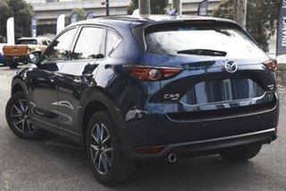 2021 Mazda CX-5 KF4WLA GT SKYACTIV-Drive i-ACTIV AWD Blue 6 Speed Sports Automatic Wagon