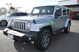 2018 Jeep Wrangler JL MY18 Unlimited Overland Billet Silver 8 Speed Automatic Hardtop.