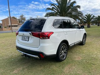 2016 Mitsubishi Outlander ZK MY17 LS 4WD Safety Pack White 6 Speed Constant Variable Wagon
