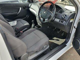 2009 Holden Barina TK MY09 White 5 Speed Manual Hatchback