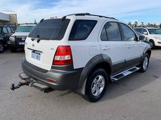 2005 Kia Sorento BL 05 Upgrade White 5 Speed Tiptronic Wagon