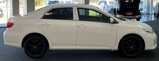 2012 Toyota Corolla ZRE152R MY11 Ascent White 6 Speed Manual Sedan.