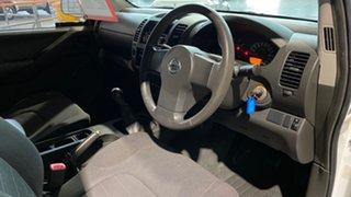 2007 Nissan Navara D40 RX White 6 Speed Manual Utility