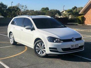 2016 Volkswagen Golf VII MY17 92TSI DSG Comfortline White 7 Speed Sports Automatic Dual Clutch Wagon.