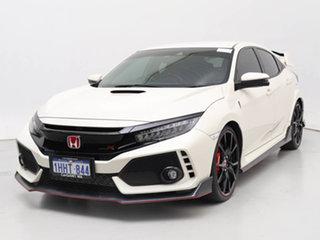 2018 Honda Civic MY18 Type R White 6 Speed Manual Hatchback.
