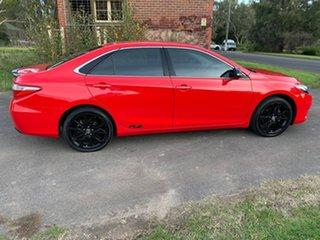 2017 Toyota Camry ASV50R RZ Red Sports Automatic Sedan.