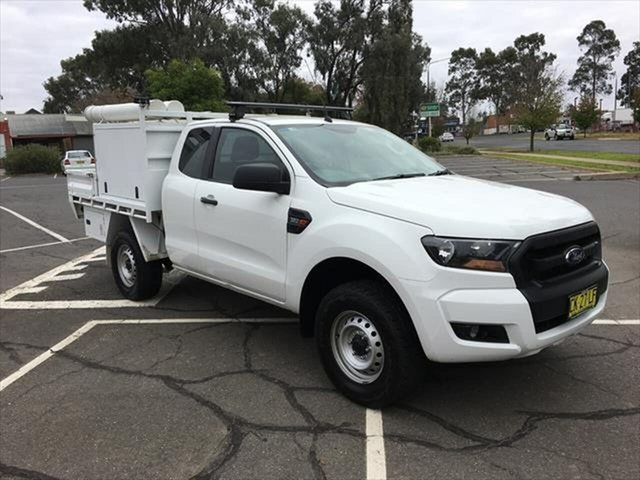Used Ford Ranger PX MkII XL Yarrawonga, 2016 Ford Ranger PX MkII XL White 6 Speed Sports Automatic Cab Chassis