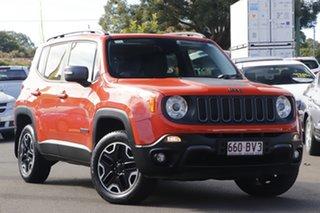 2015 Jeep Renegade BU MY16 Trailhawk AWD Orange 9 Speed Sports Automatic Hatchback.