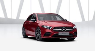2021 Mercedes-Benz A-Class W177 801+051MY A180 DCT Designo Patagonia Red 7 Speed