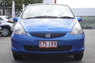 2004 Honda Jazz GD MY05 VTi Blue 5 Speed Manual Hatchback.
