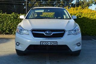 2014 Subaru XV G4X MY14 2.0i Lineartronic AWD White 6 Speed Constant Variable Wagon.