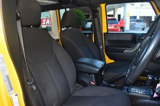 2015 Jeep Wrangler JK MY2015 Unlimited Sport Yellow 5 Speed Automatic Softtop