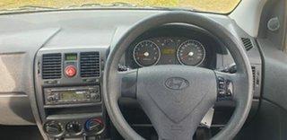 2010 Hyundai Getz TB MY09 S Silver 4 Speed Automatic Hatchback