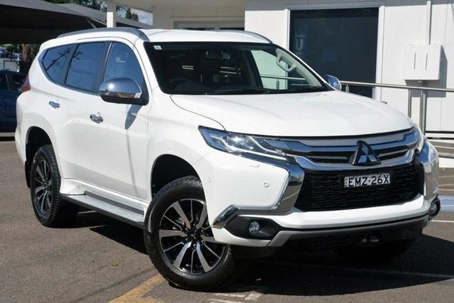 Used Mitsubishi Pajero Sport QE MY19 Exceed Tuggerah, 2019 Mitsubishi Pajero Sport QE MY19 Exceed White 8 Speed Sports Automatic Wagon