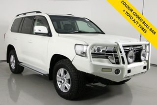 2017 Toyota Landcruiser VDJ200R MY17 LC200 Altitude Special Edition White 6 Speed Automatic Wagon.