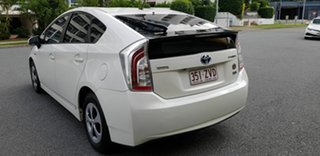 2012 Toyota Prius ZVW30R MY12 Hybrid Pink Continuous Variable Hatchback.