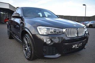 2018 BMW X4 F26 xDrive35i Coupe Steptronic Grey 8 Speed Automatic Wagon.