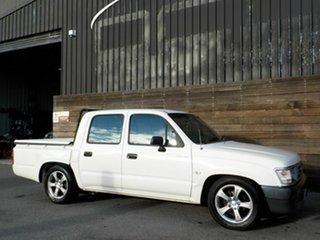 2000 Toyota Hilux RZN149R 4x2 White 4 Speed Automatic Utility.