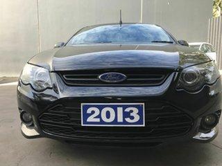 2013 Ford Falcon FG MK2 XR6 Black 6 Speed Auto Seq Sportshift Utility.