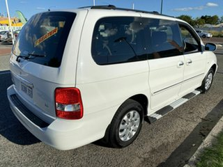 2005 Kia Carnival KV11 LS White 4 Speed Automatic Wagon