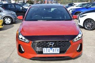 2017 Hyundai i30 PD MY18 SR D-CT Premium Orange 7 Speed Sports Automatic Dual Clutch Hatchback.
