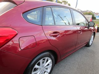 2014 Subaru Impreza G4 MY14 2.0i Lineartronic AWD Red 6 Speed Constant Variable Hatchback