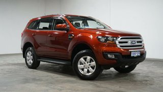 2017 Ford Everest UA 2018.00MY Ambiente Red 6 Speed Sports Automatic SUV.