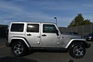 2018 Jeep Wrangler JL MY18 Unlimited Overland Billet Silver 8 Speed Automatic Hardtop