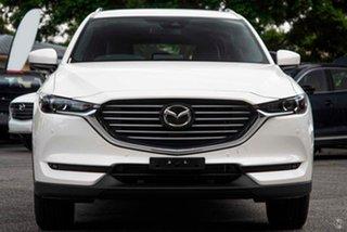 2021 Mazda CX-8 KG2WLA Touring SKYACTIV-Drive FWD White 6 Speed Sports Automatic Wagon.
