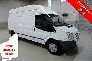 2013 Ford Transit VM MY13 350 High Roof LWB White 6 Speed Manual Van.