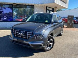 2021 Hyundai Venue QX.V3 MY21 Elite Cosmic Grey 6 Speed Automatic Wagon.